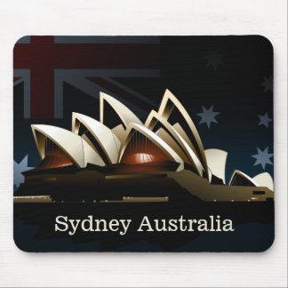 Sydney opera house at night mouse pad