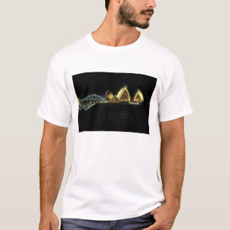 Sydney Opera House at night, New South Wales, 2 T-Shirt