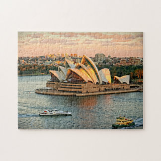 Sydney Opera House at the Golden Hour Puzzle