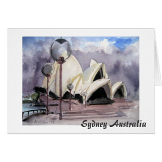 Sydney Opera House Australia Card