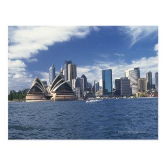 Sydney opera house, Australia Postcard