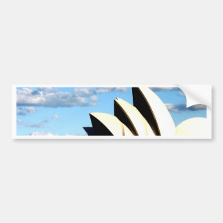 sydney opera house bumper sticker