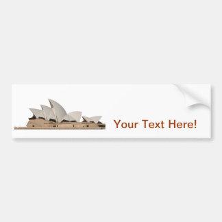 Sydney Opera House: Bumper Sticker
