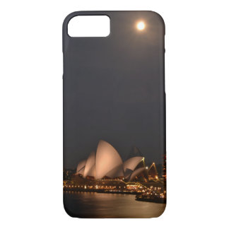 Sydney Opera House by Moonlight iPhone 7 Case