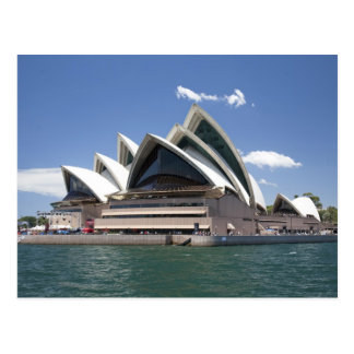 Sydney Opera House exterior, Sydney, New South Postcard