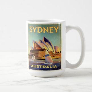 Sydney Opera house from the harbor Coffee Mug