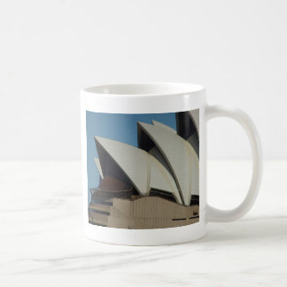 Sydney Opera House In Sunlight Backed By Cloud Coffee Mug