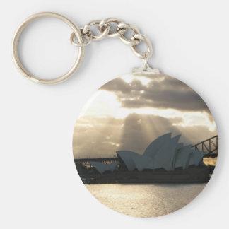 Sydney Opera House Keychain