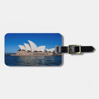 Sydney Opera House Luggage Tag