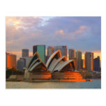 sydney opera house post card