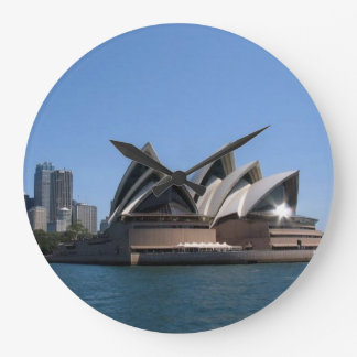 Sydney Opera House, Round (Large) Wall Clock