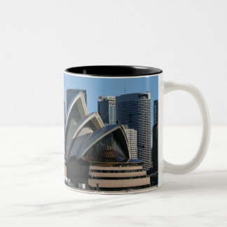 Sydney Opera House Two-Tone Coffee Mug