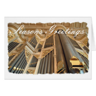 Sydney organ seasons greetings card