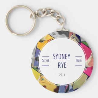 Sydney Rye keychain
