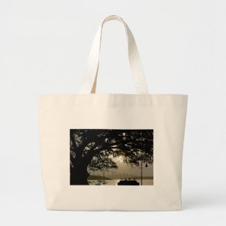 Sydney Skyline scenic view Large Tote Bag
