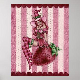 Sydney - Strawberry Witch - Poster