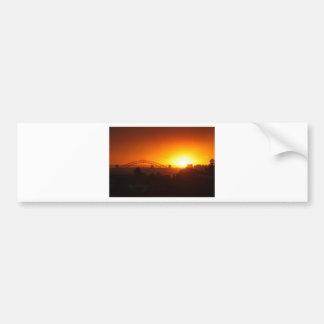 Sydney Sunset Bumper Stickers