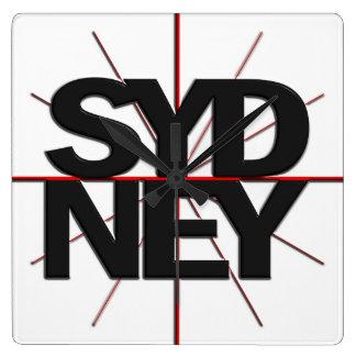 Sydney Timezone Wall Clock