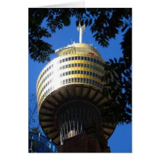 Sydney Tower Card