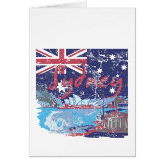sydney vintage australia card