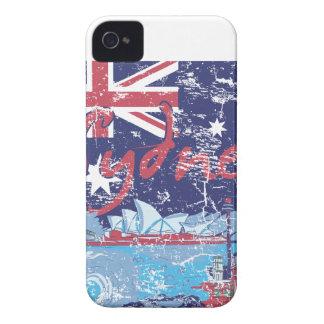sydney vintage australia Case-Mate iPhone 4 cases