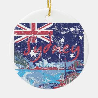 sydney vintage australia ceramic ornament
