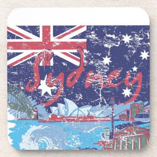 sydney vintage australia coaster