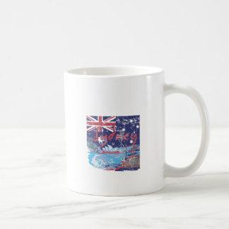 sydney vintage australia coffee mug