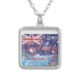 sydney vintage australia silver plated necklace