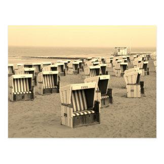 Sylt beach postcard