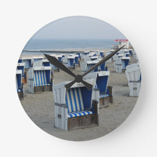 Sylt beach wall clocks