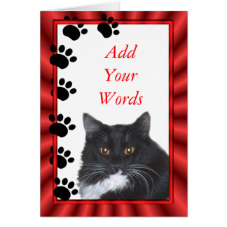 Sylvester card-customize card