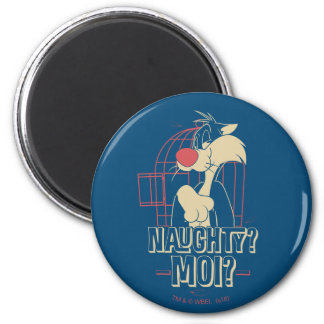 SYLVESTER™- Naughty? Moi? Magnet