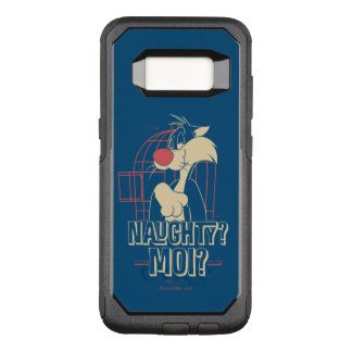SYLVESTER™- Naughty? Moi? OtterBox Commuter Samsung Galaxy S8 Case