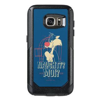 SYLVESTER™- Naughty? Moi? OtterBox Samsung Galaxy S7 Case