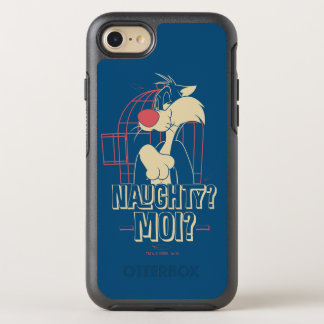 SYLVESTER™- Naughty? Moi? OtterBox Symmetry iPhone 8/7 Case