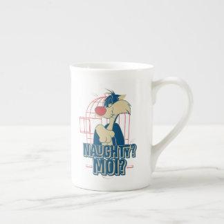 SYLVESTER™- Naughty? Moi? Tea Cup
