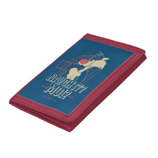 SYLVESTER™- Naughty? Moi? Tri-fold Wallets