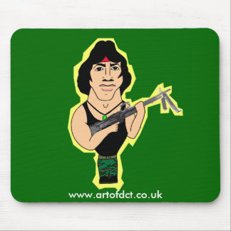 Sylvester Rambo Mouse Pad
