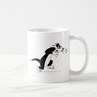 Sylvester rôdant tasse
