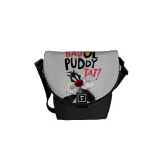 SYLVESTER™ & TWEETY™- Bad Ol' Puddy Tat Messenger Bag