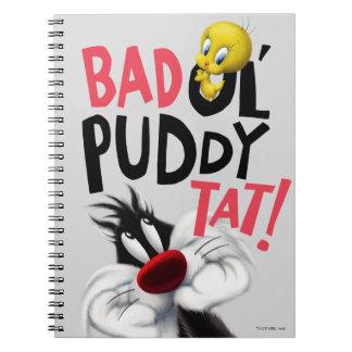 SYLVESTER™ & TWEETY™- Bad Ol' Puddy Tat Notebooks
