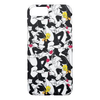 SYLVESTER™ & TWEETY™ Pattern Case-Mate iPhone Case