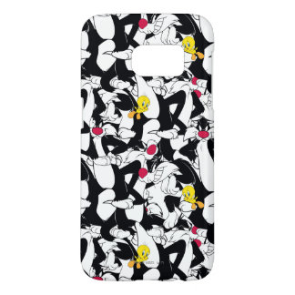 SYLVESTER™ & TWEETY™ Pattern Samsung Galaxy S7 Case