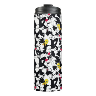 SYLVESTER™ & TWEETY™ Pattern Thermal Tumbler
