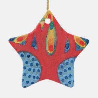 Symbiosis Ceramic Ornament