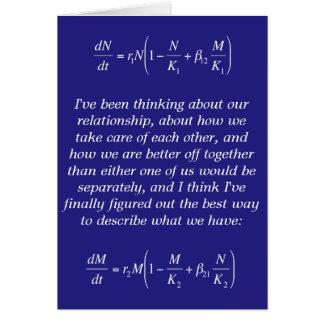 symbiotic relationship funny nerdy romantic card