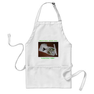 SYMBIOTICALLY GREEN ! STANDARD APRON
