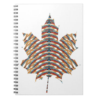 SYMBOL ART Canadian MapleLeaf LOWPRICE STORE Spiral Note Book