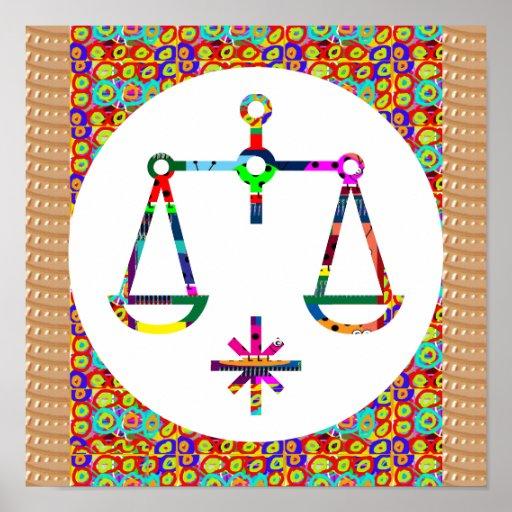 Symbol Balance Spiritual Moral Ethics Health Life Posters